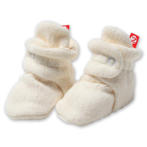 Zutano Cozie Fleece Booties - New Baby New Paltz