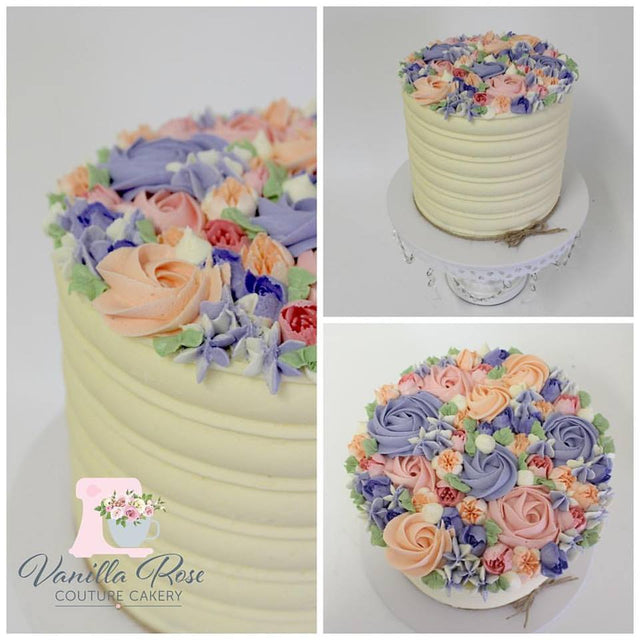 Buttercream Bouquet Birthday Cake