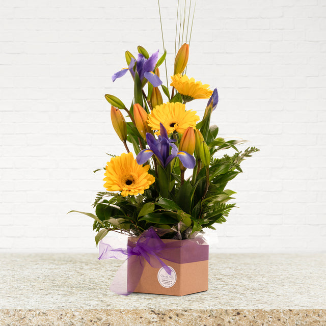 Irises, Lillies and Gerberas