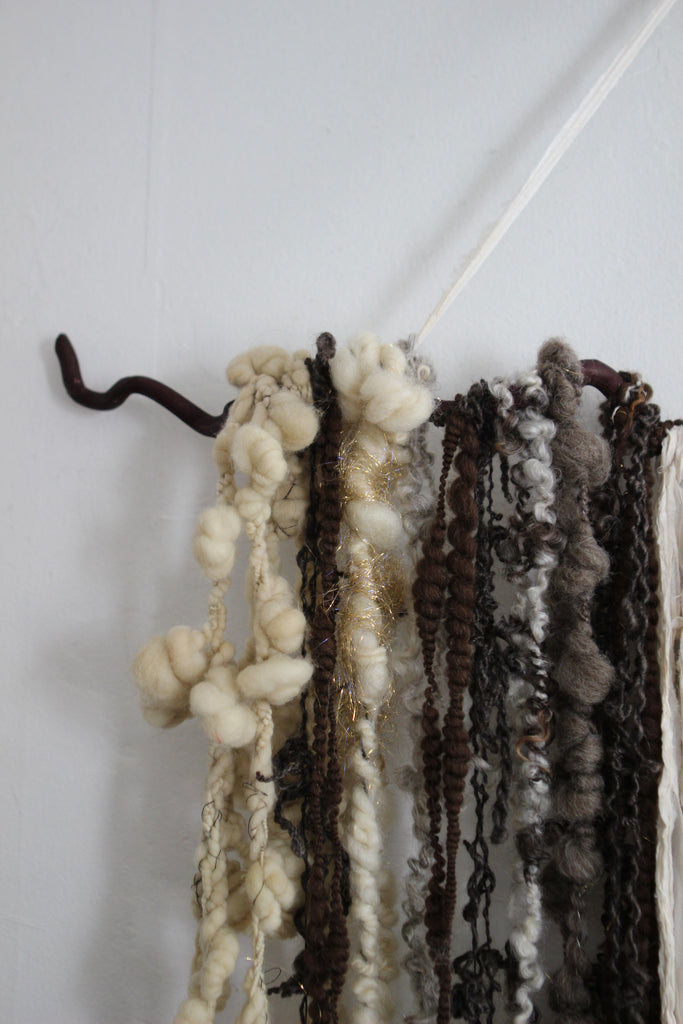 FREEFORM Wall Hanging  (Free Handspun Project)
