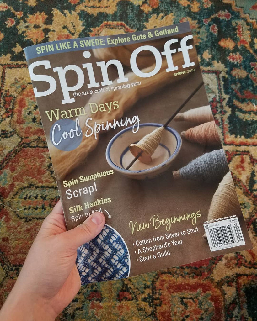 My Local Wool Article in Spin Off (Spring 2019)