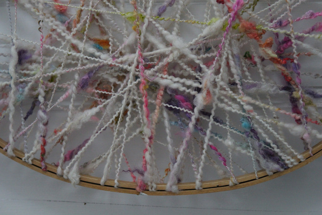 HOOP Wall Decor (Free Handspun Project Pattern)