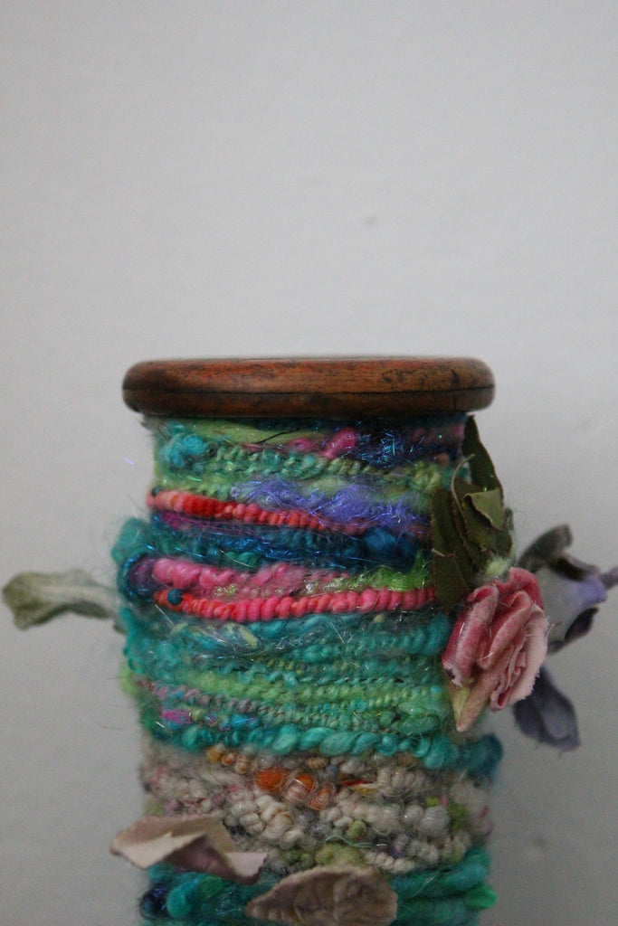 BOBBIN Decor (Free Handspun Project)