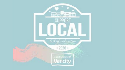 Get a $50 gift card for $25 with Support Local BC and Vancity