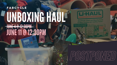 FABCYCLE Unboxing Haul Livestream *Postponed*