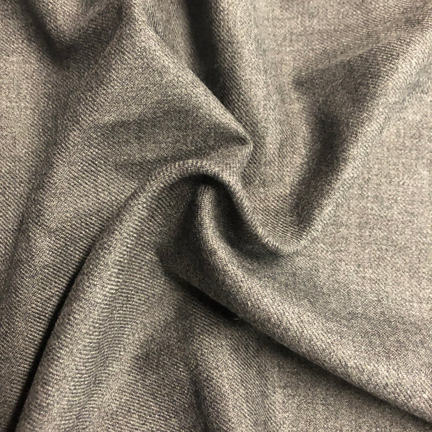 Twill Suiting - Grey  - 1/2 meter