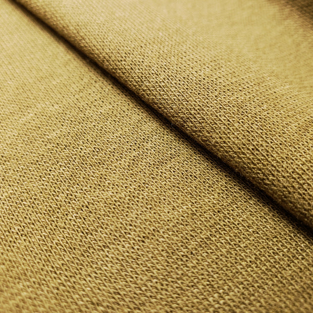 Bamboo Cotton Stretch Blend Mini Ribbed -  Most Moss  - 1/2 meter - FABCYCLE shop