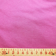 Bamboo Cotton Stretch Blend Mini Ribbed -  Middle Class Pink  - 1/2 meter