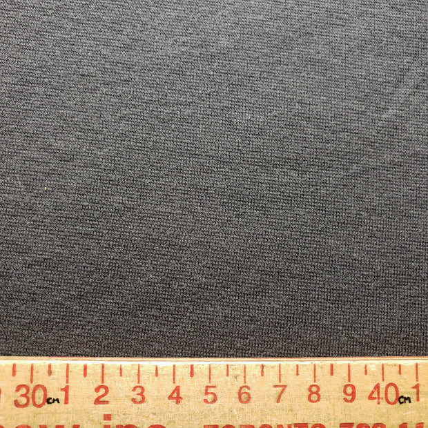 Bamboo Cotton Stretch Blend Mini Ribbed -  Slate - 1/2 meter - FABCYCLE shop