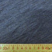 Organic Cotton Bamboo Slub - After Sunset Blue Maybe Navy - 1/2 meter