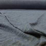 Organic Cotton Bamboo Slub - After Sunset Blue Maybe Navy - 1/2 meter - FABCYCLE shop