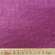 Organic Cotton Bamboo Slub - Raspberry - 1/2 meter - FABCYCLE shop