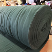 Cotton Polo Tubular - Forest Green - 1/2 meter - FABCYCLE shop