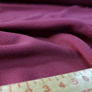 Cotton Polo Tubular - Raspberry - 1/2 meter