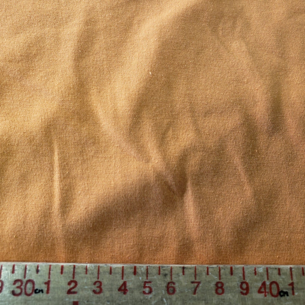 Cotton/Spandex Jersey- Unique Orange- 1/2 meter - FABCYCLE shop
