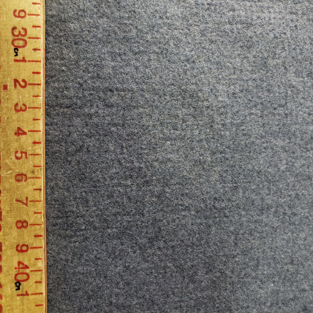 Felt fleece  - Cloudy Blue- 1/2 meter - FABCYCLE shop