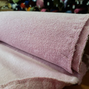 fleece  - Ice Pink- 1/2 meter - FABCYCLE shop