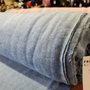 Fleece - Ice Blue - 1/2 meter - FABCYCLE shop