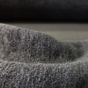 Fleece  - Black- 1/2 meter - FABCYCLE shop