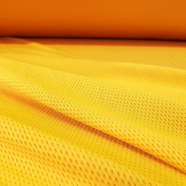 ProMesh Sport Jersey-  Mustard - 1/2 meter - FABCYCLE shop