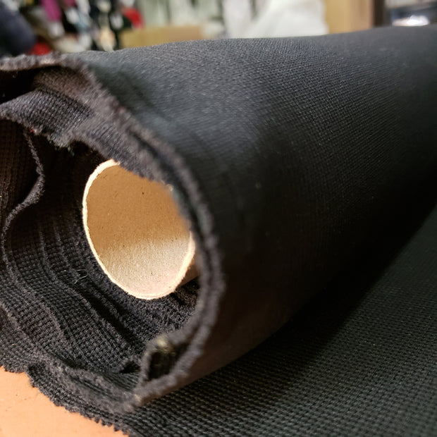 ProMesh Thicker Sport Jersey-  Black - 1/2 meter - FABCYCLE shop