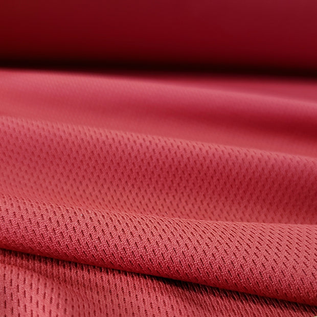 ProMesh Thinner 150 gsm Sport Jersey- Red - 1/2 meter - FABCYCLE shop
