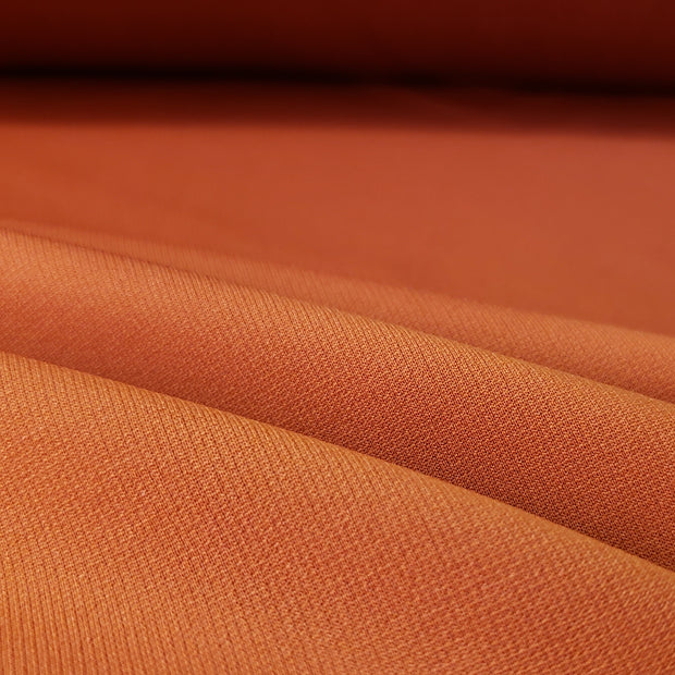 4 Way Sport Stretch- Unique Orange - 1/2 meter - FABCYCLE shop