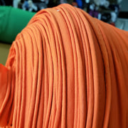 Sport Jersey 4 way stretch- Orange - 1/2 meter - FABCYCLE shop