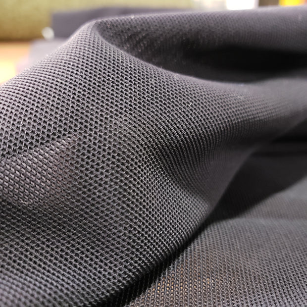 Pro Stretch High-end Mesh- Black - 1/2 meter