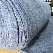2 Textured Fleece - Monica's Blue - 1/2 meter - FABCYCLE shop