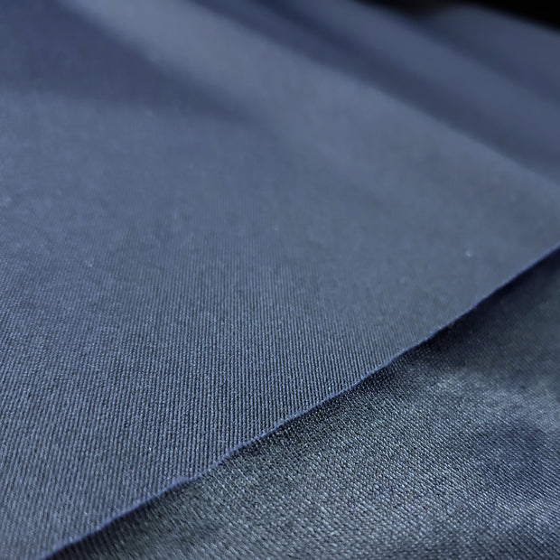 Shiny Stretch Dance Fabric  - Blue- 1/2 meter - FABCYCLE shop