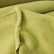 Fleece Medium Weight  - Wow kinda Lime Green  - 1/2 meter - FABCYCLE shop
