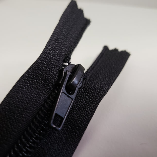 "17"" to 21.5"" Industry designer zippers - Black - FABCYCLE shop"
