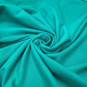 Bamboo/Cotton Stretch French Terry - Aqua Dream - 1/2 Meter