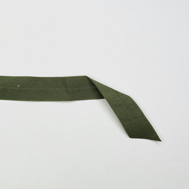 "3/4"" Knit Fold Over Elastic - Jade Green - 1 Meter"