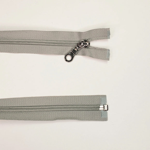 "18"" Coil Zipper - Clay Grey"