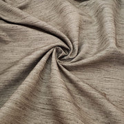 Moss Silk Field - Poly-Cotton Woven Upholstery - Brown - 1M Bundle