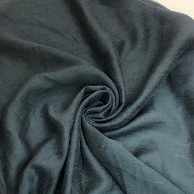 Heated Thunder Cloud Grey - Cotton Chiffon - 1/2 meter