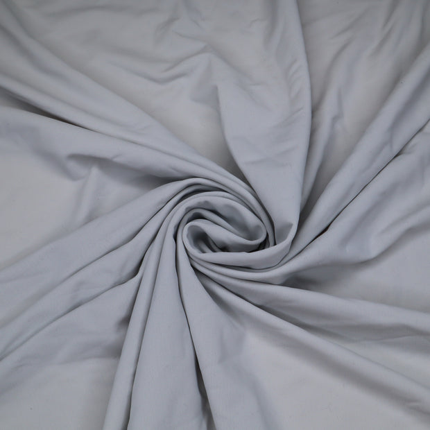 Cockateil - Polyester Spandex Knit - Light Grey - 1/2 Meter