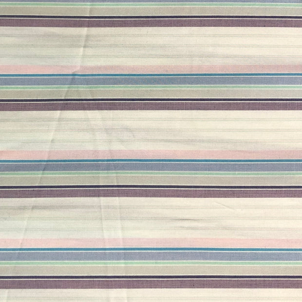 Bananas in Pijamas - Pastel Colour Stripes Woven  - 1/2 meter - FABCYCLE shop