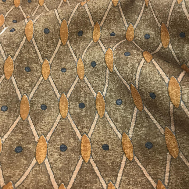 Dots and Diamonds - Upholstery Woven - 1/2 metre - FABCYCLE shop