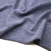 Rain Bucket - Cotton Polyester Knit - Blue - 1/2 Meter