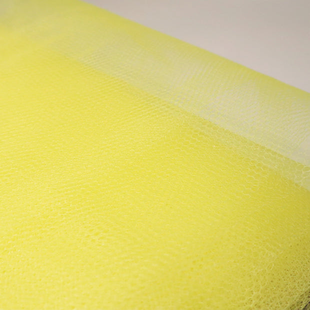 Canary - Polyester Tulle - Yellow - 1/2 Meter