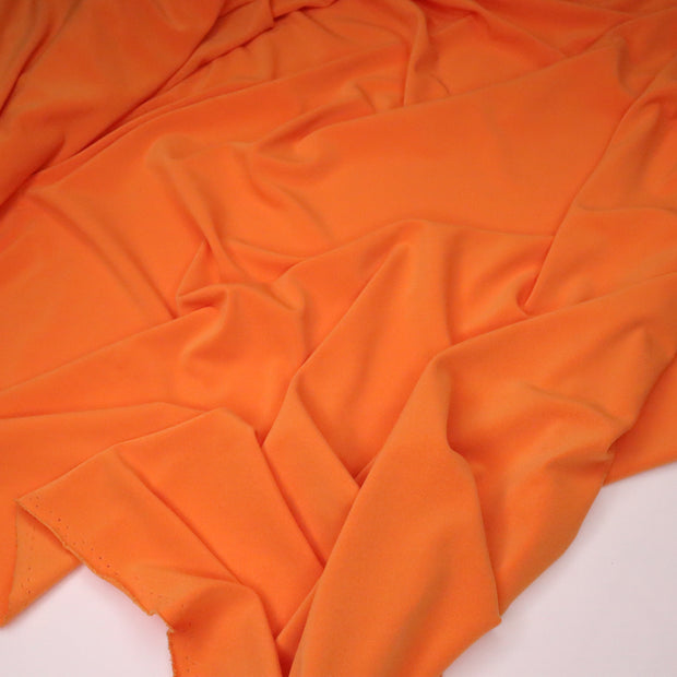 Creamsicle - Polyester Spandex Knit - Light Orange - 1/2 Meter