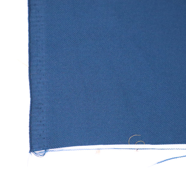 Ocean Wave - Polyester Twill Woven - Deep Blue - 1/2 Meter