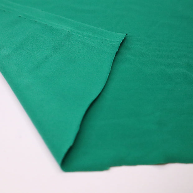 Ivy - Polyester Nylon Knit - Green - 1/2 Meter