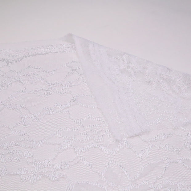 Bride to Be - Polyester Lace Knit - White - 2.50M Bundle