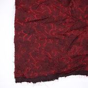 Dracula's Blinds - Poly Woven - Maroon/Red - 1/2 Meter