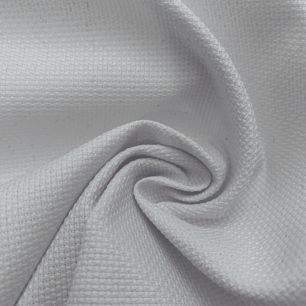 Beluga White - Synthetic Woven - white - 1/2 Meter