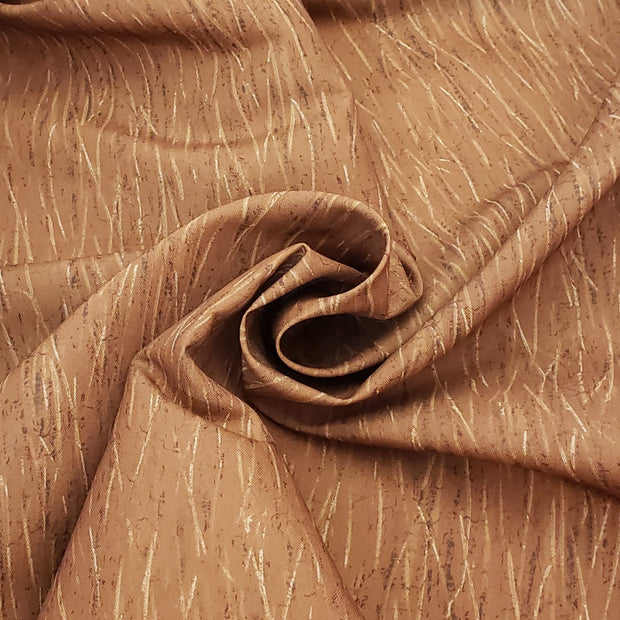 Mud Grass - Poly Woven Upholstery - Dark Orange -  Bundles